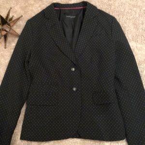 Banana Republic Jackets & Coats - Banana Republic black blazer with white polka dots